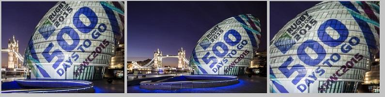 EMF LONDON CITY HALL PROJECTION