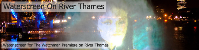 River Thames Waterscreen