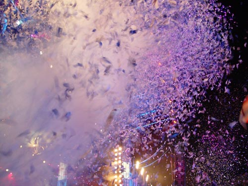 Confetti finale at BBC Proms in the Park