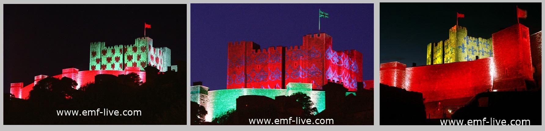 Building Projection Dover Castle
