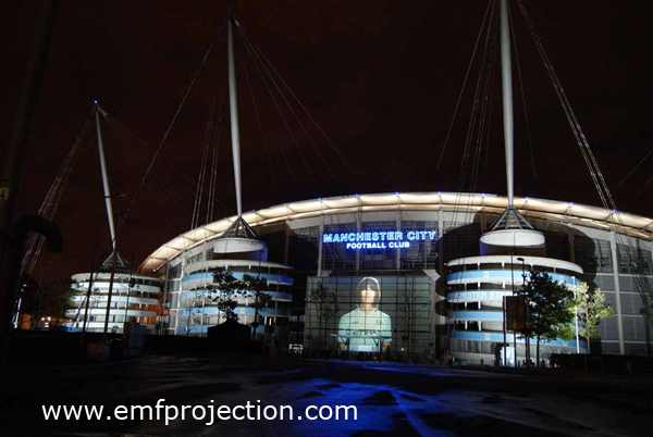 MANCHESTER CITY BUILDING PROJECTION
