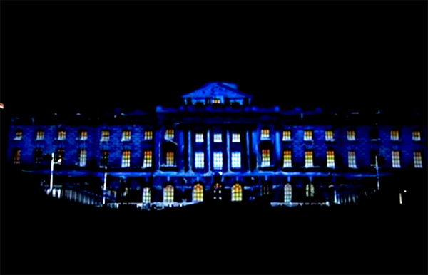 Video Projection Mapping Somerset House