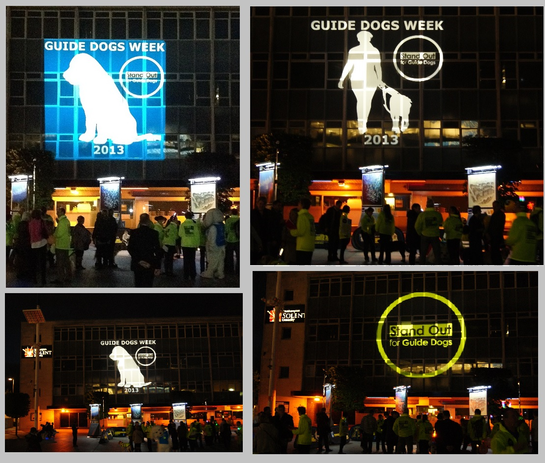 Guide Dog Projection Southampton