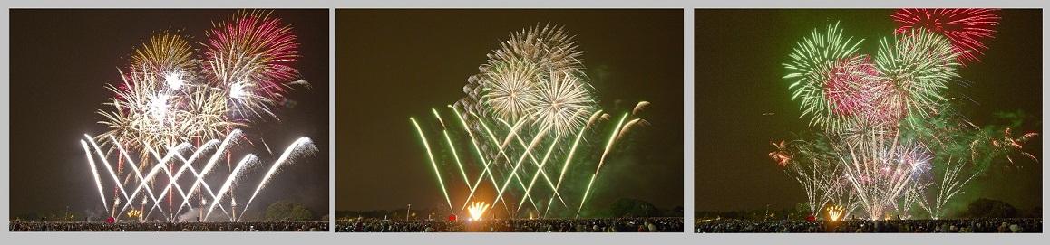 Newham Wanstead Flats Firework Show