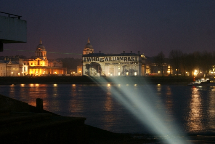 Building Projection Greenwich