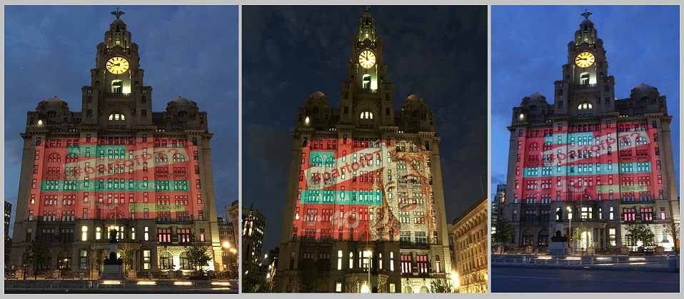 Prince's Trust Liver Building Projection