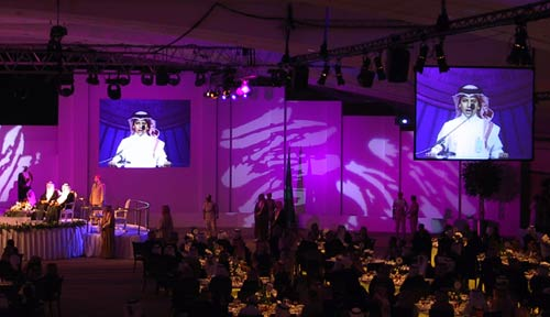 video projection Saudi Arabia