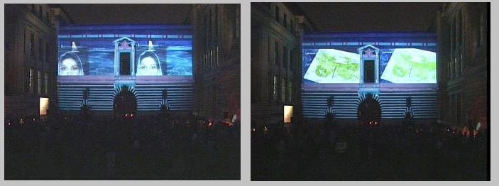 Video Projection V&A Museum, London