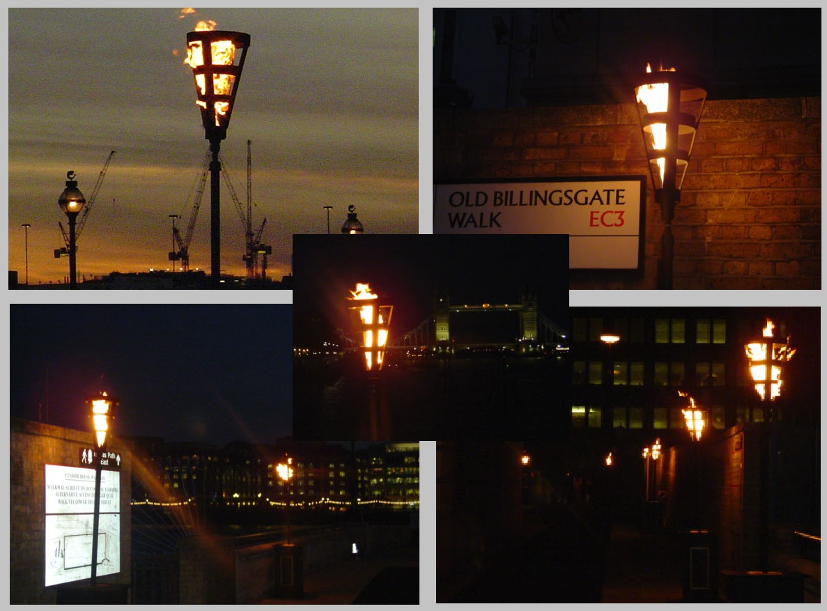 Flambe Torches, Old Billingsgate event