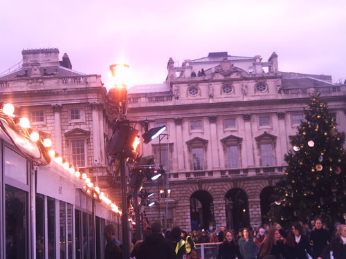Flame Torches Somerset House