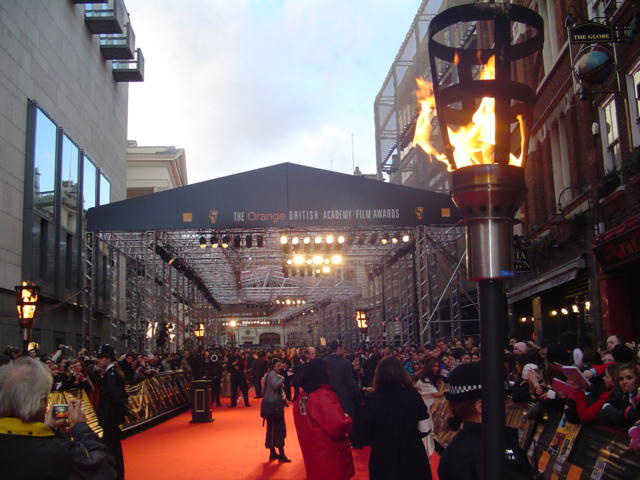 Flambe Torches for Bafta Awards