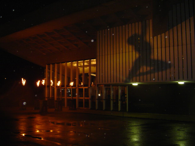 Flambeaux Torches at Chichester Theatre