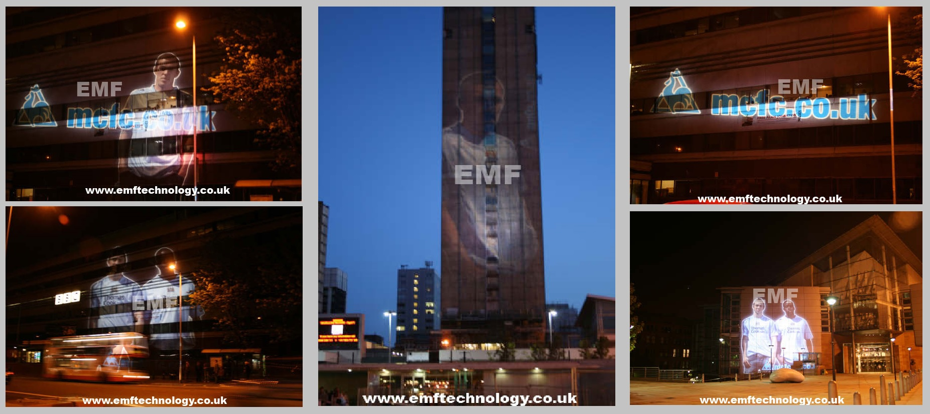 Building Projection Campaign Manchester
