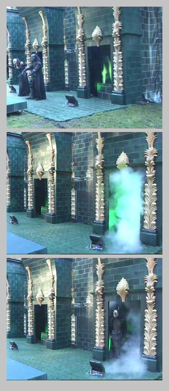 Green Flame and Smoke effects for Harry Potter Premiere