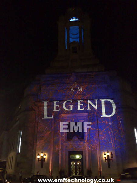 Building Projection - I am Legend