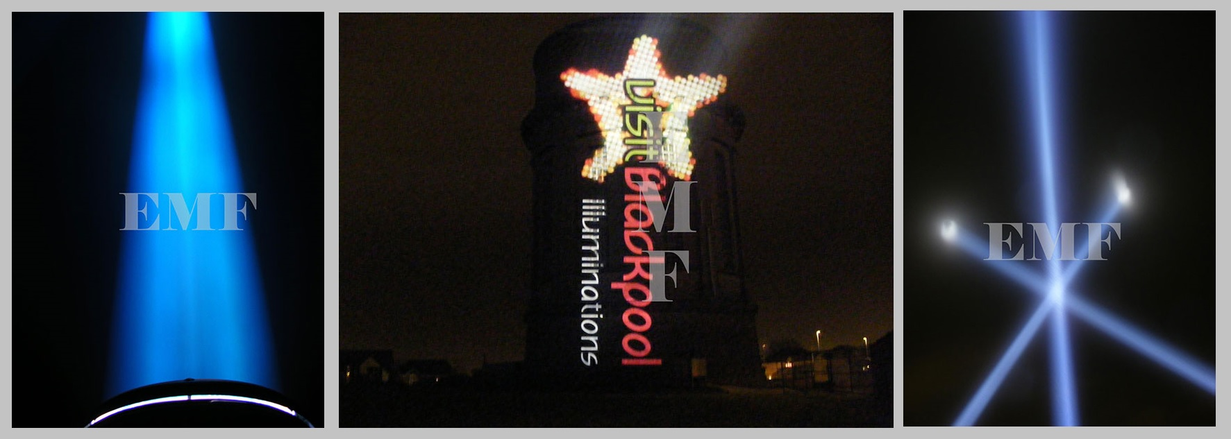 Blackpool Illuminations Projection Campaign