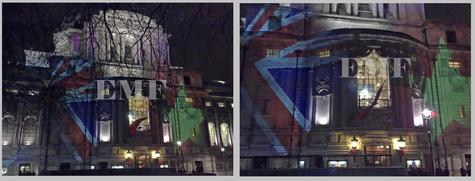 Westminster Methodist Hall Building Projection