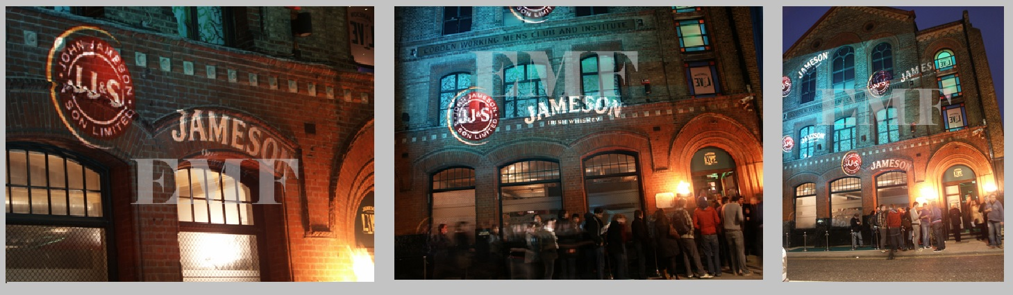 Outdoor Building Projection Advertising Campaign