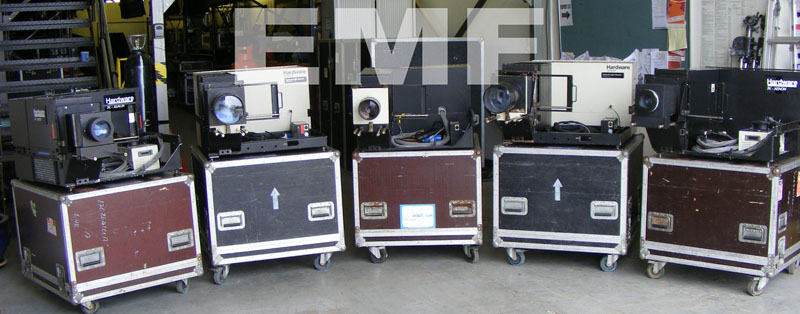 7KW Hardware for Xenon Projectors for massive outdoor projections