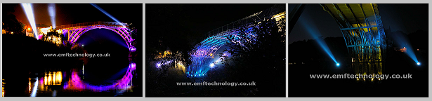 Ironbridge Searchlight show