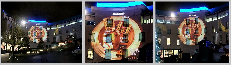 Ferrero Rocher Projection, Birmingham