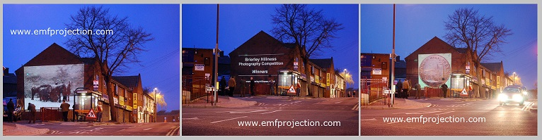 Brierley Hill building projections