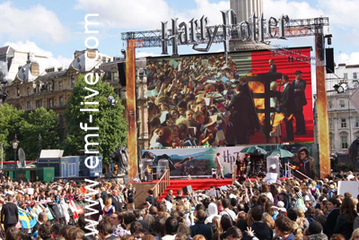Harry Potter Premiere Tafalagar Square