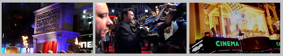 Flame effects Sherlock Holmes II premiere London