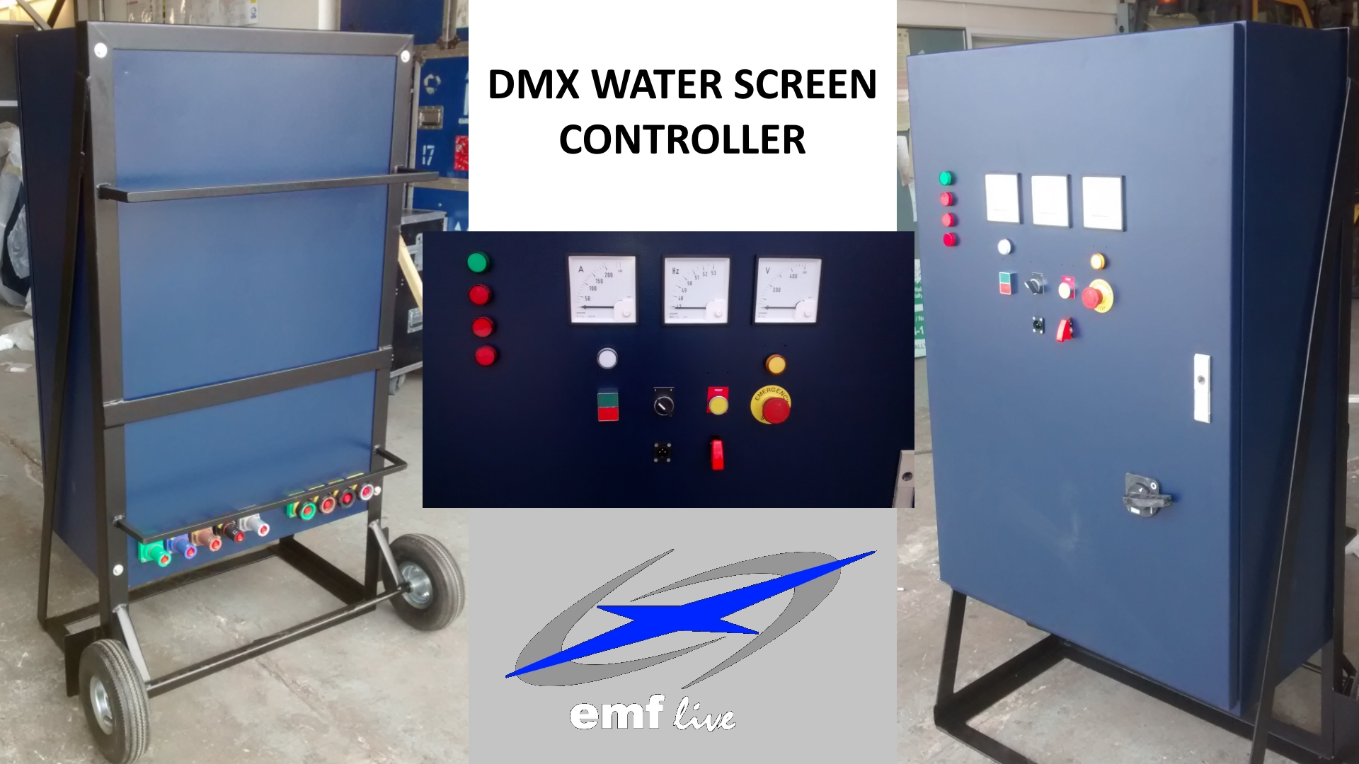 EMF'S DMX WATERSCREEN ON / OFF CONTROLLER