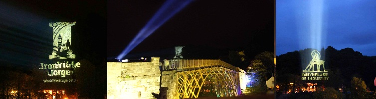 Ironbridge Festival Projections