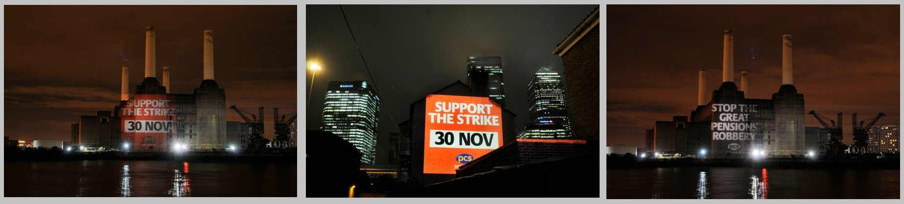 PCS UNION OUTDOOR BUILDING PROJECTION CAMPAIGN ACROSS LONDON