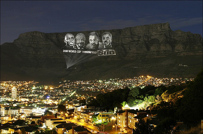Table Mountain projection