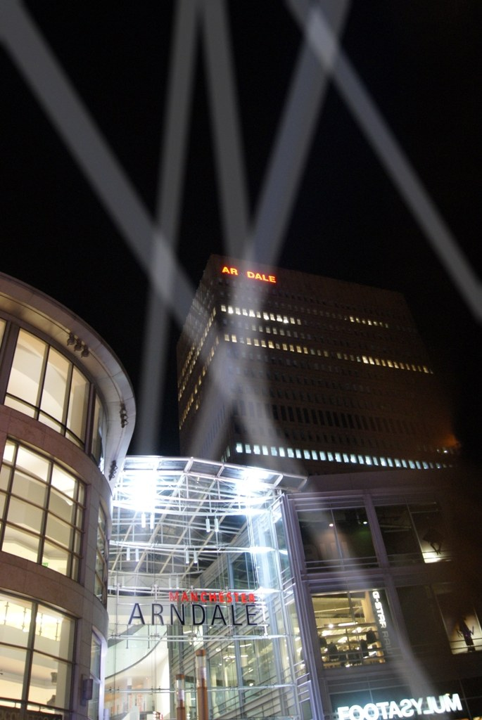 Searchlight Show Manchester Arndale Centre