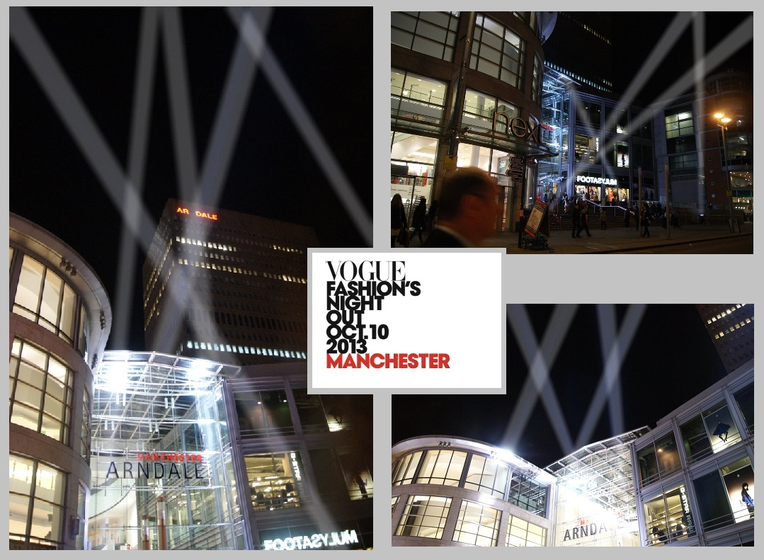 Searchlight Show at Manchester Arndale Centre