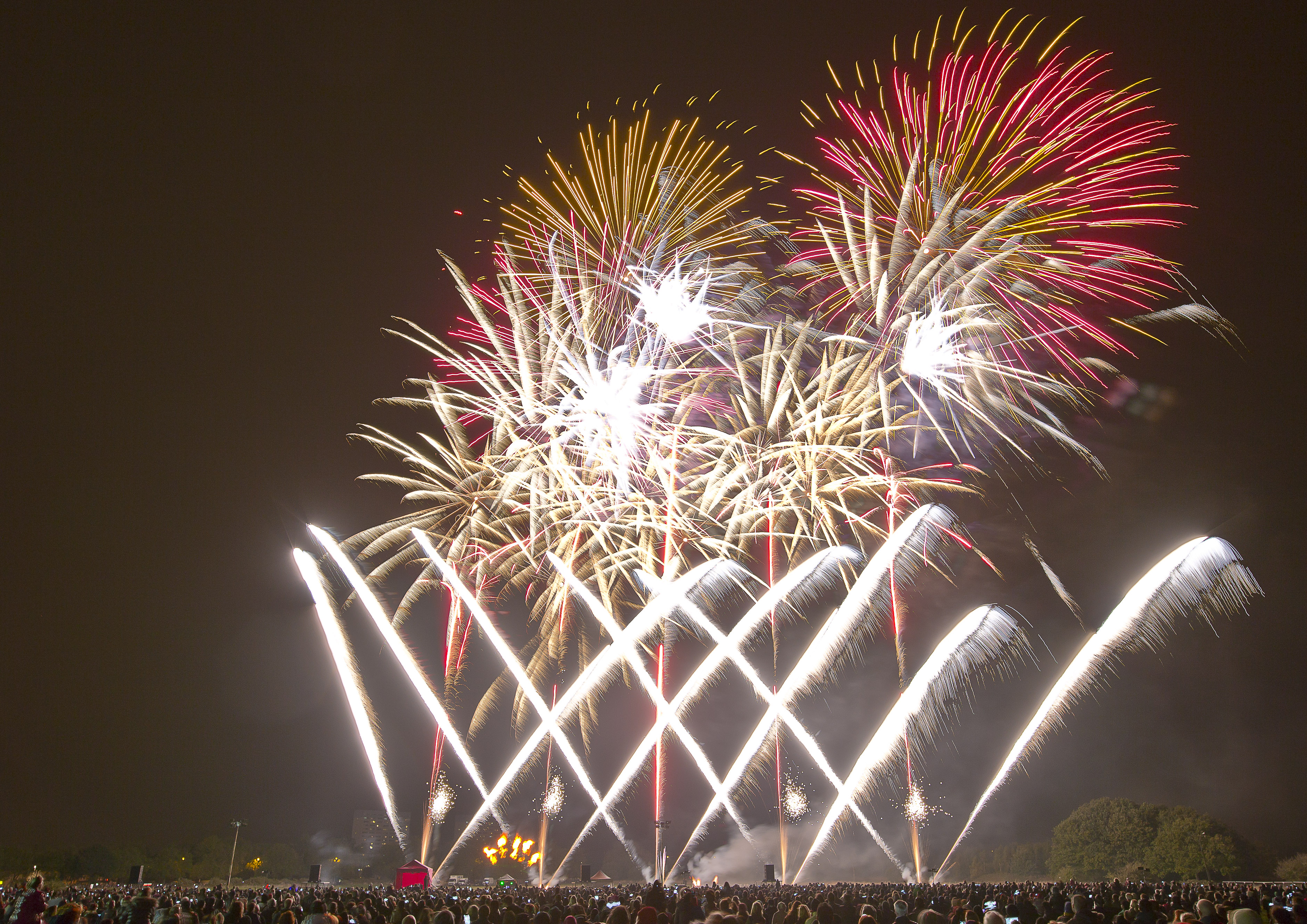 Newham Wanstead Flats Fireworks Display
