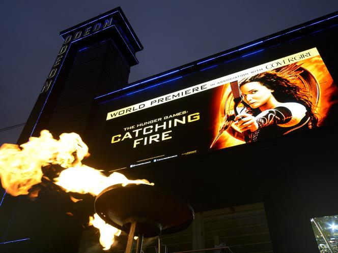 Flame effects Catching Fire Premiere