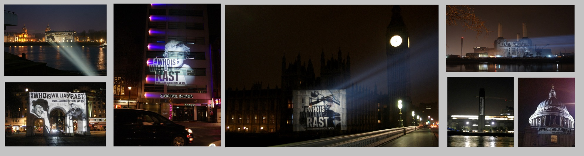 LONDON PROJECTIONS #WhoIsWilliamRast