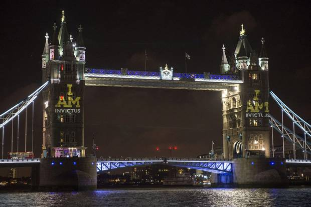 Tower Bridge Projection
