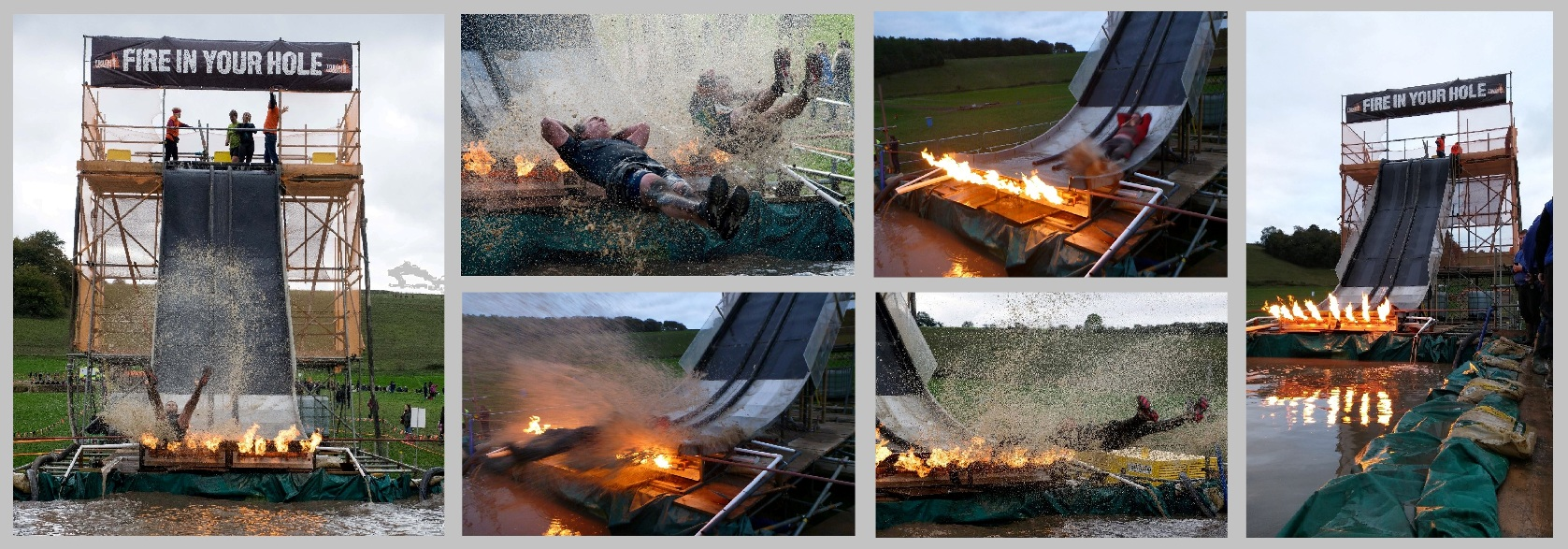 FLAME EFFECTS TOUGH MUDDER