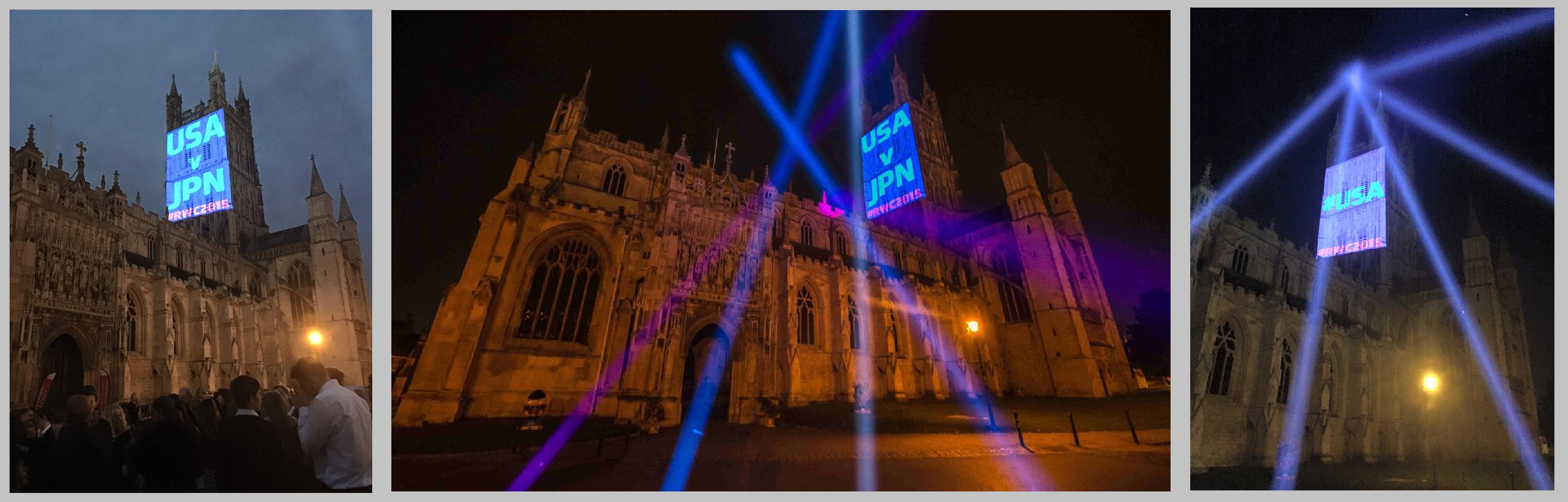 Gloucester Cathedral Rugby Projections