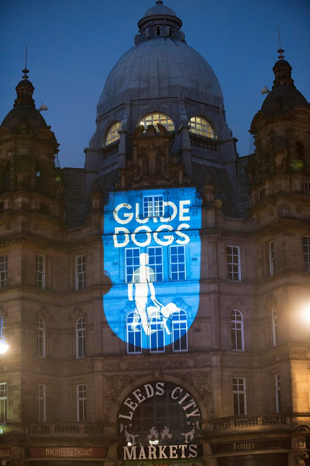 Leeds Guide Dog Projection
