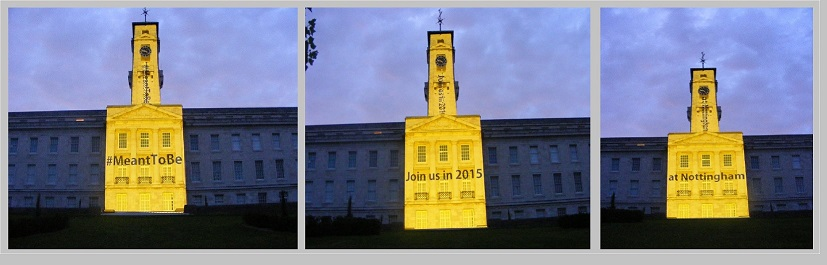#MeantToBe Nottingham University Projections