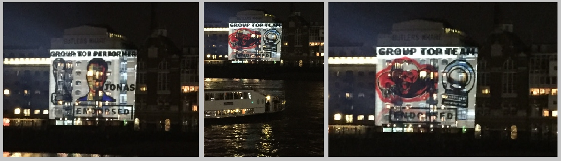 London River Projection