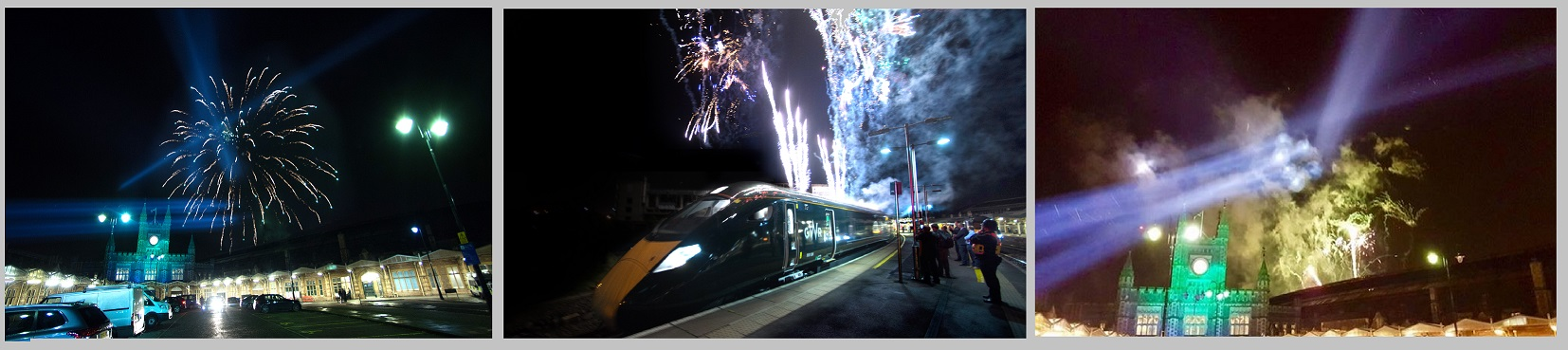 GWR train launch event, Bristol Temple Meads