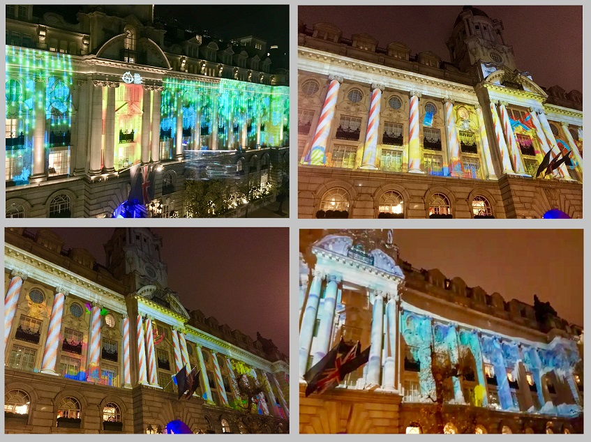 ROSEWOOD HOTEL CHRISTMAS PROJECTIONS
